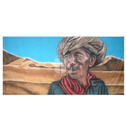 Moroccan Man in Desert