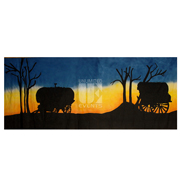 Wagon Sunset 1