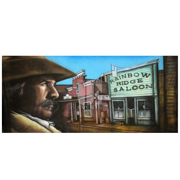 Western Rainbow Ridge Saloon