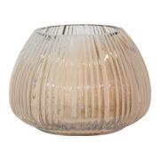 Amber Belly Vase 16cm