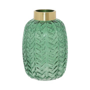 Emerald Bottle Vase 26cm