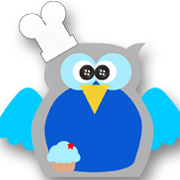 Chef Owl Blue