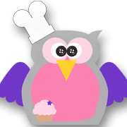 Chef Owl Pink