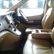 Hyundai H1 - 7Seater interior