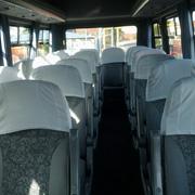 Iveco 18 Seater interior