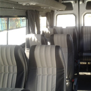 Mercedes Sprinter interior - 16 Seater