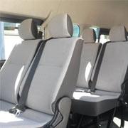 Quantum 13 Seater Interior