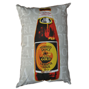 All Gold Tomato Sauce Cushion Cover