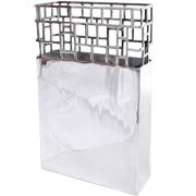 Aluminium Cube Vase A