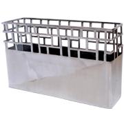 Aluminium Cube Vase B