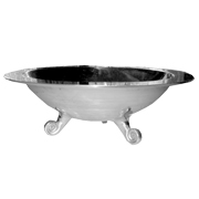 Aluminium Bowl with Feet