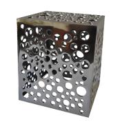 Aluminium Cube With Holes