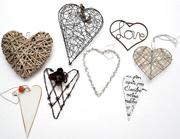 Assorted Decorative Hearts Small