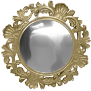 Baroque Mirror Baseplate Gold