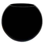 Black Fish Tank Vase Medium
