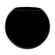 Black Fish Tank Vase Small