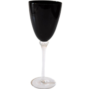 Black Wine Glass Red Wine