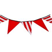 Bunting Red & White Stripe Short
