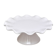 Cake Stand Frill White