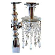 Candelabra Crystal Decorations