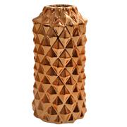 Ceramic Studded Copper Vase