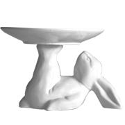 Ceramic Bunny Cake Stand