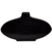 Ceramic Flat Oval Vase