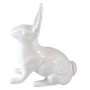 Ceramic Rabbit White