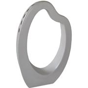 Ceramic Sculptural Oval Vase