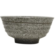 Ceramic Bowl Speckled Grey