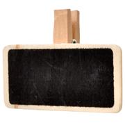 Chalkboard Rectangle Napkin Tag Small