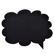 Chalkboard Speech Bubble A