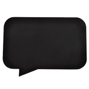 Chalkboard Speech Bubble C