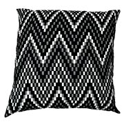 Chevron Chequered Heavy Weave Cushion