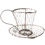 Chicken Wire Teacup