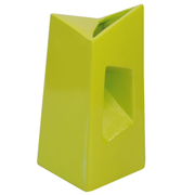Chimney Vase Lime Green Tall