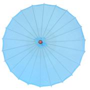 Chinese Umbrella Light Blue