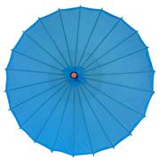 Chinese Umbrella Primary Blue