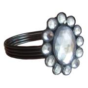 Classic Diamante Napkin Ring Style A