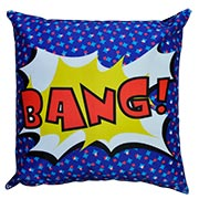 Comic Book Cushion Cover Bang