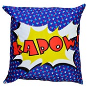 Comic Book Cushion Cover Kapow