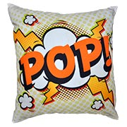 Comic Book Cushion Cover Pop