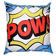 Comic Book Cushion Cover Pow