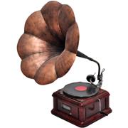 Copper Gramaphone