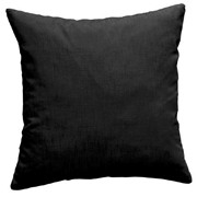 Cotton Cushion Cover Black