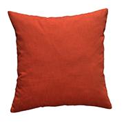 Cotton Cushion Cover Dark Burnt Orange