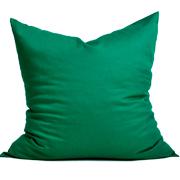 Cotton Cushion Cover Plain Green