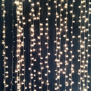 Curtain Lights LED Warm