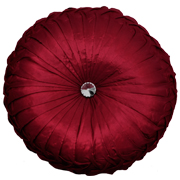 Diamante Tuck Pin Wheel Medium Red