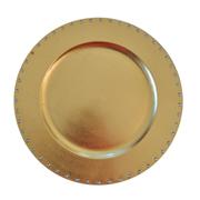 Diamante Under Plate Gold